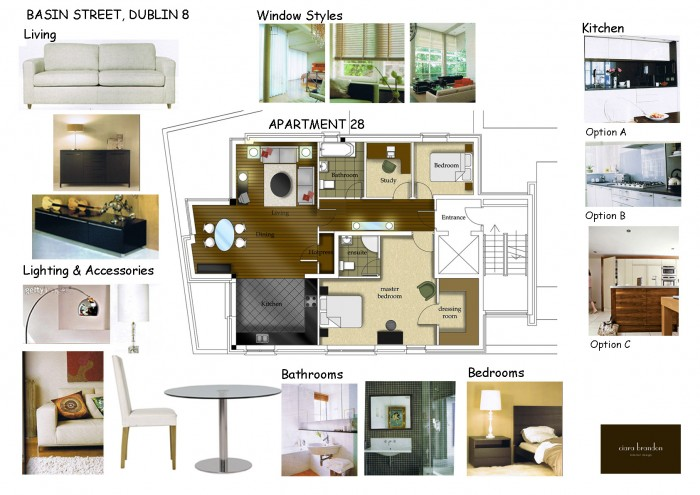 Interior design for commerical investment properties ciara brandon design for What is a sample board in interior design